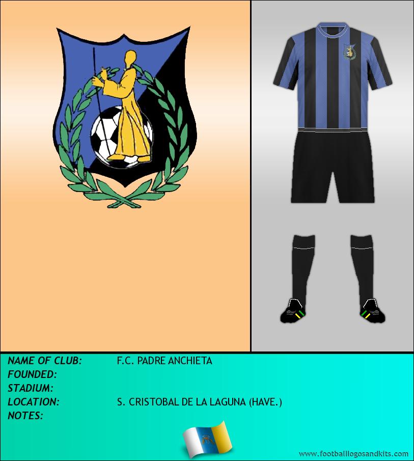 Logo of F.C. PADRE ANCHIETA