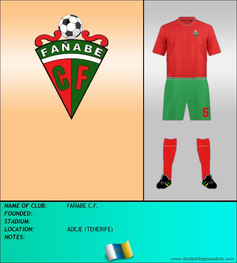 Logo of FAÑABE C.F.