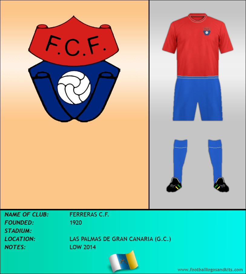 Logo of FERRERAS C.F.