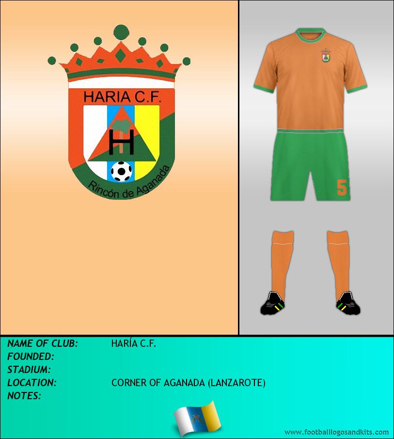 Logo of HARÍA C.F.