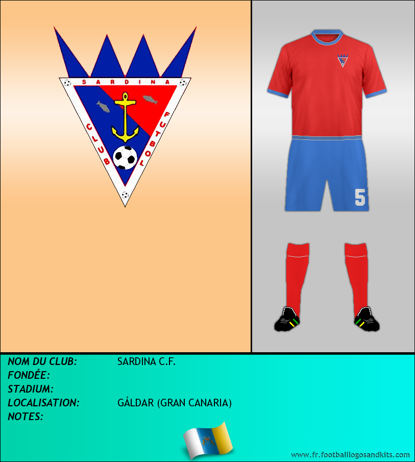 Logo de SARDINA C.F.