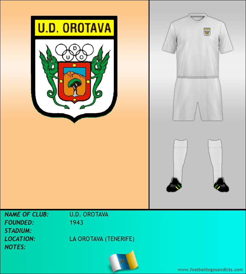 Logo of U.D. OROTAVA