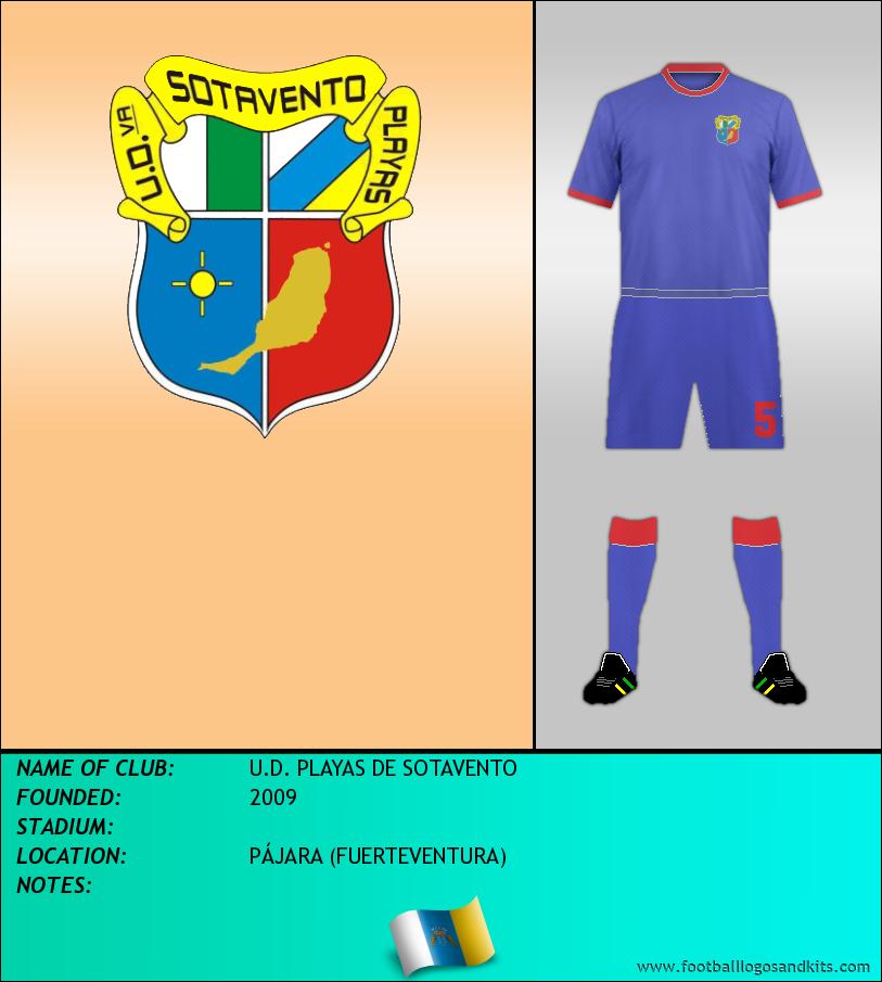 Logo of U.D. PLAYAS DE SOTAVENTO