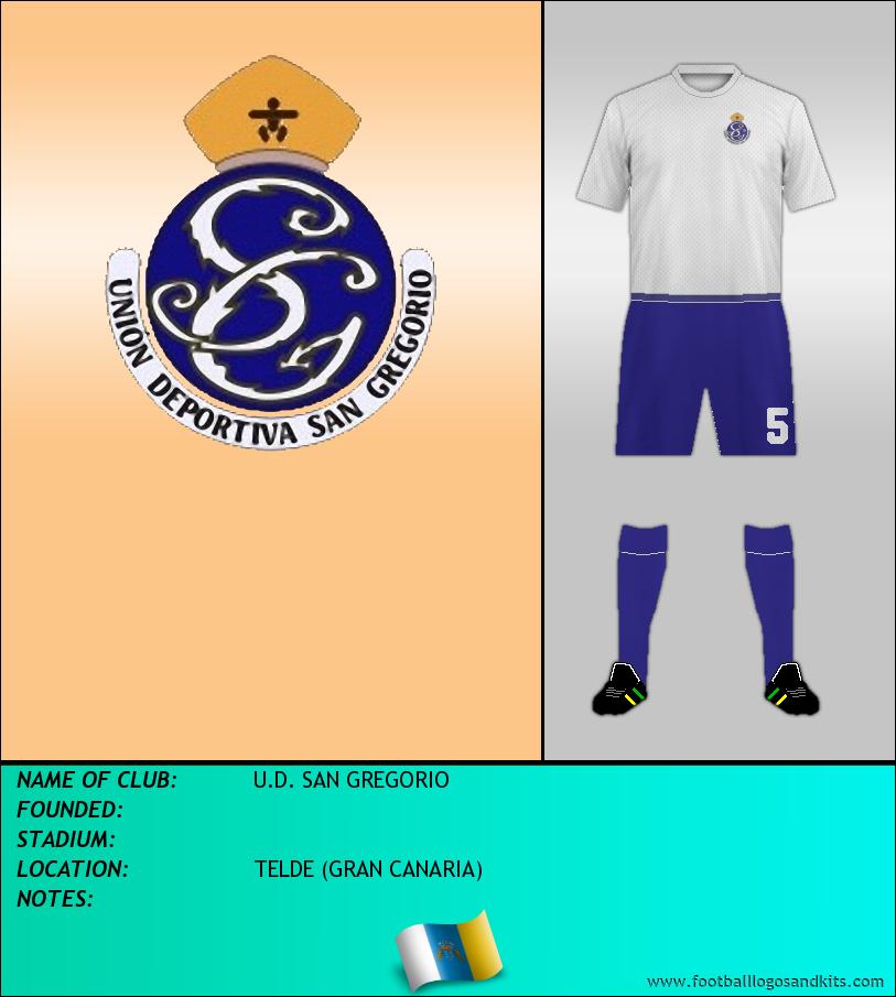 Logo of U.D. SAN GREGORIO