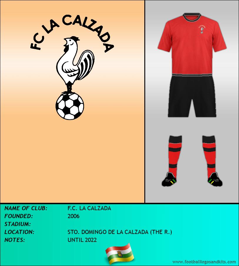 Logo of F.C. LA CALZADA