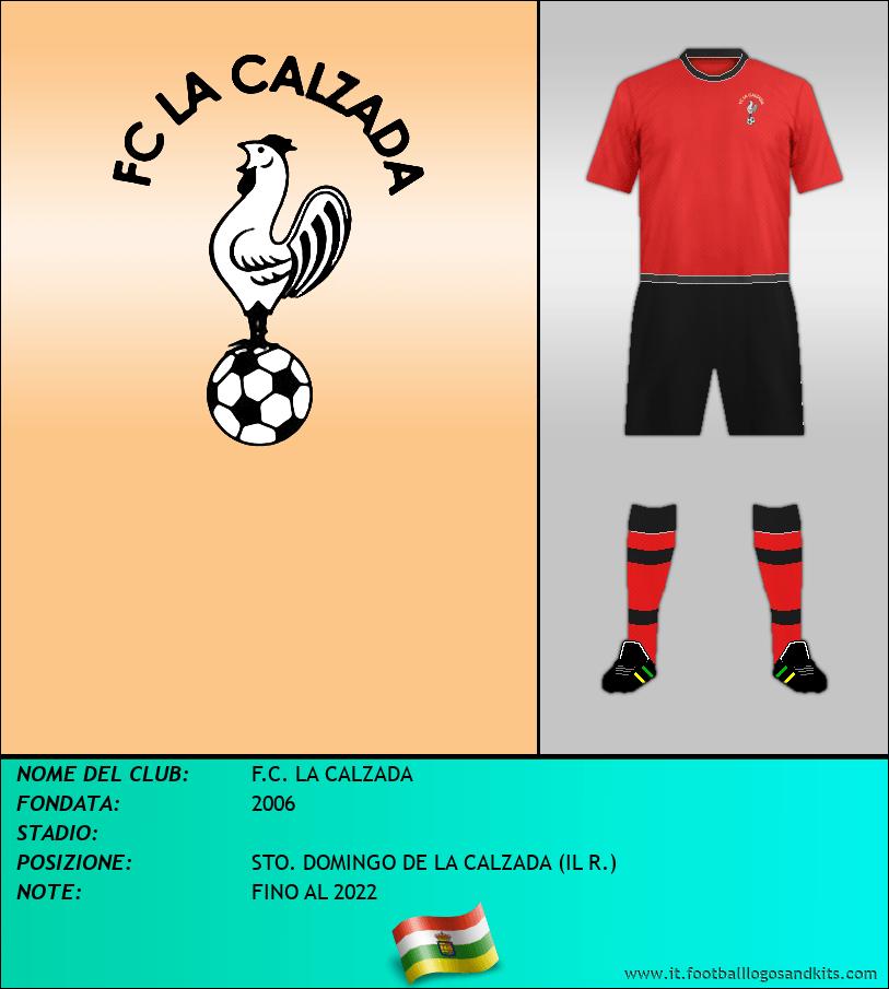 Logo di F.C. LA CALZADA