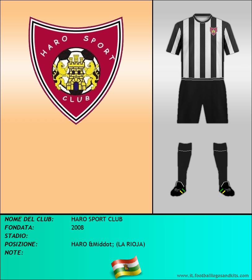 Logo di HARO SPORT CLUB