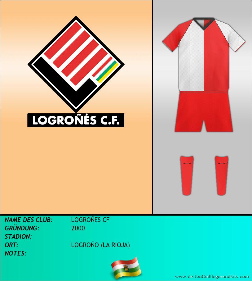 Logo LOGROÑES CF