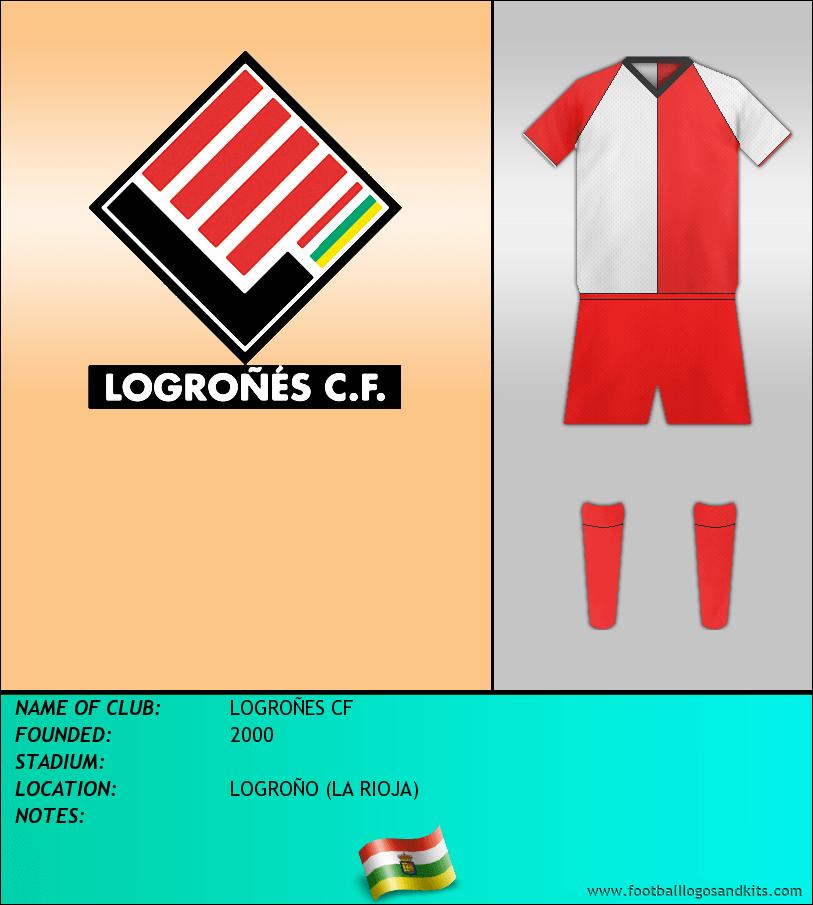 Logo of LOGROÑES CF