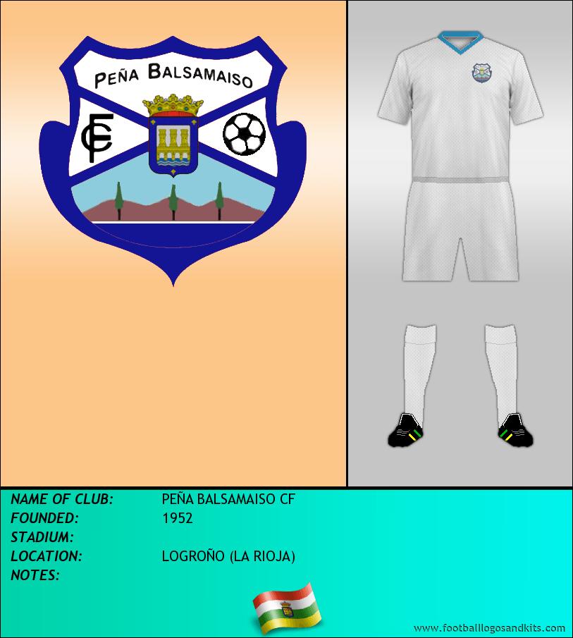 Logo of PEÑA BALSAMAISO CF