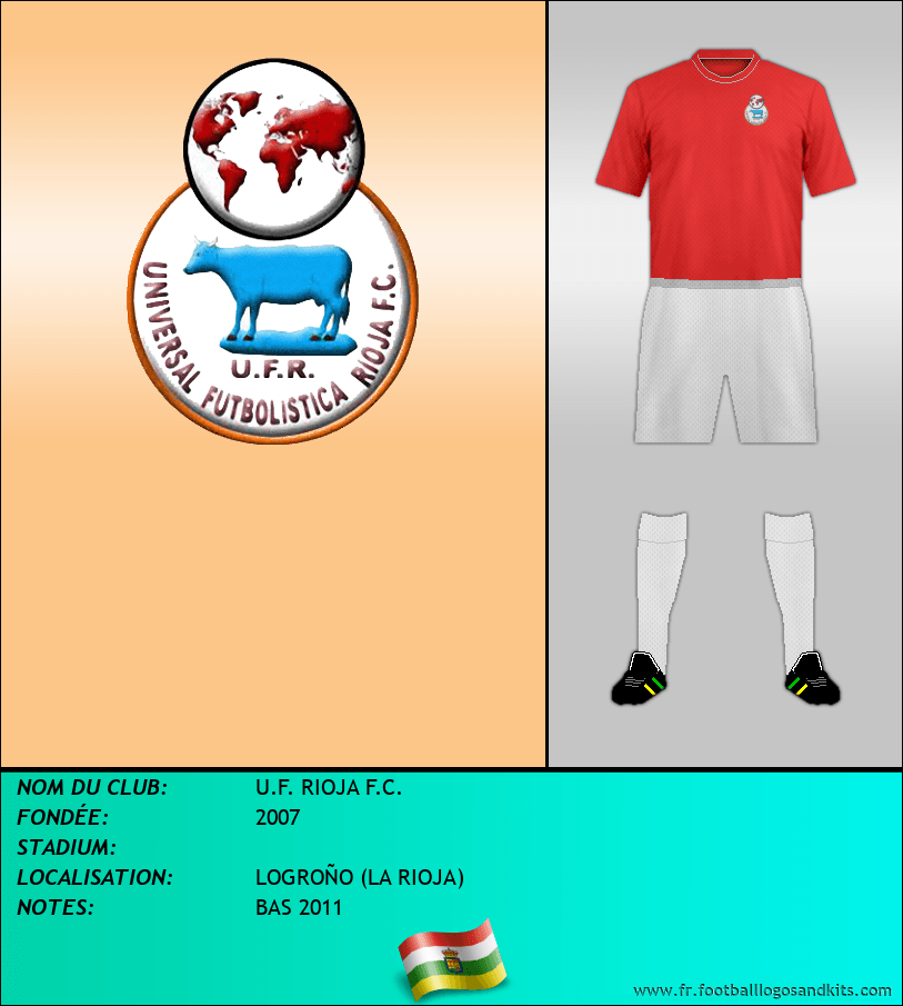 Logo de U.F. RIOJA F.C.