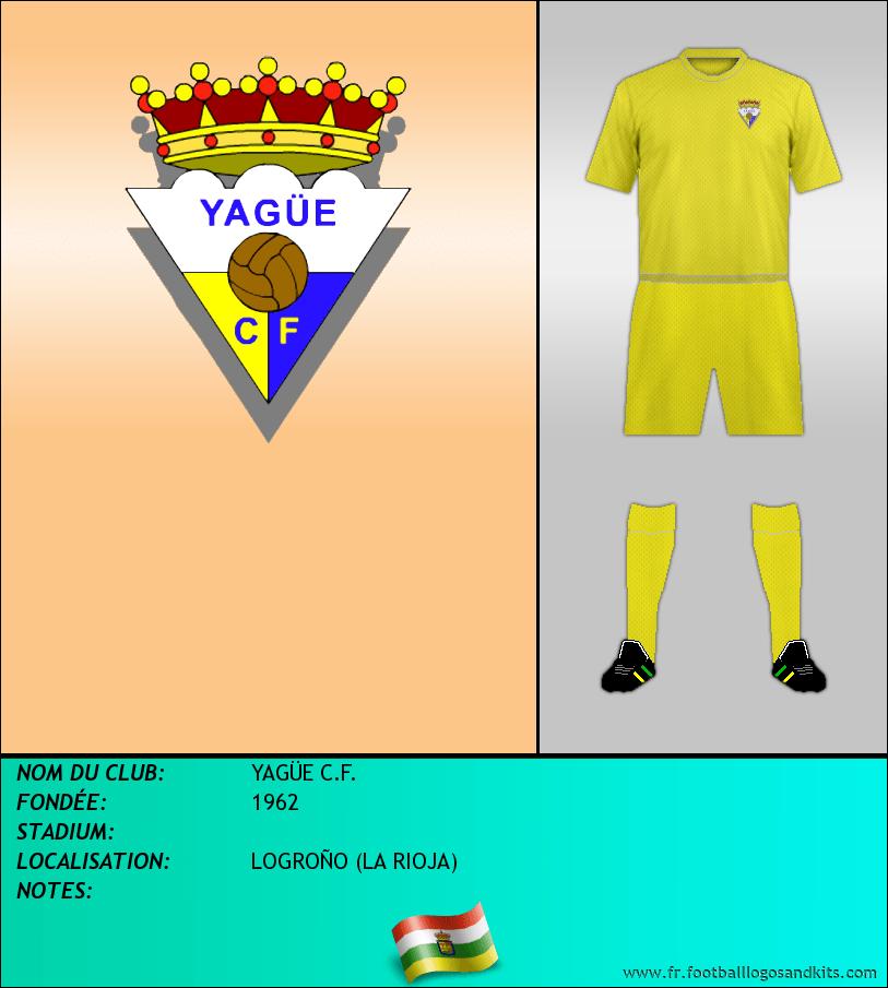 Logo de YAGÜE C.F.