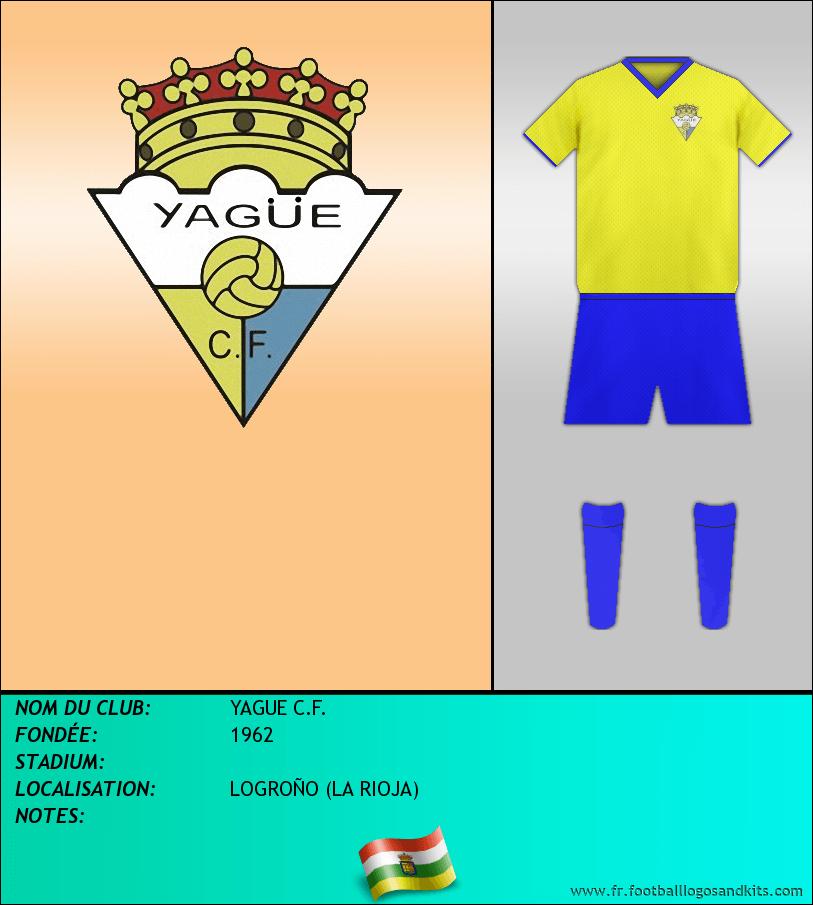 Logo de YAGUE C.F.
