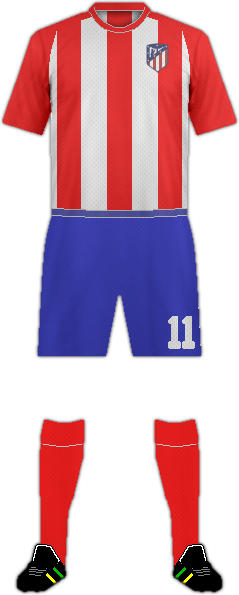 Kit C. ATLÉTICO DE MADRID (2)