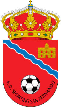 Logo of A.D. SPORTING SAN FERNANDO (MADRID)