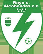 Logo of RAYO CIUDAD DE ALCOBENDAS C.F DESDE 2020.