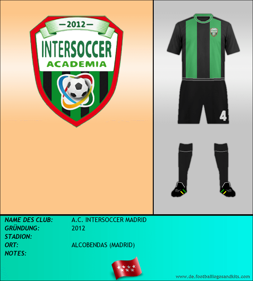 Logo A.C. INTERSOCCER MADRID