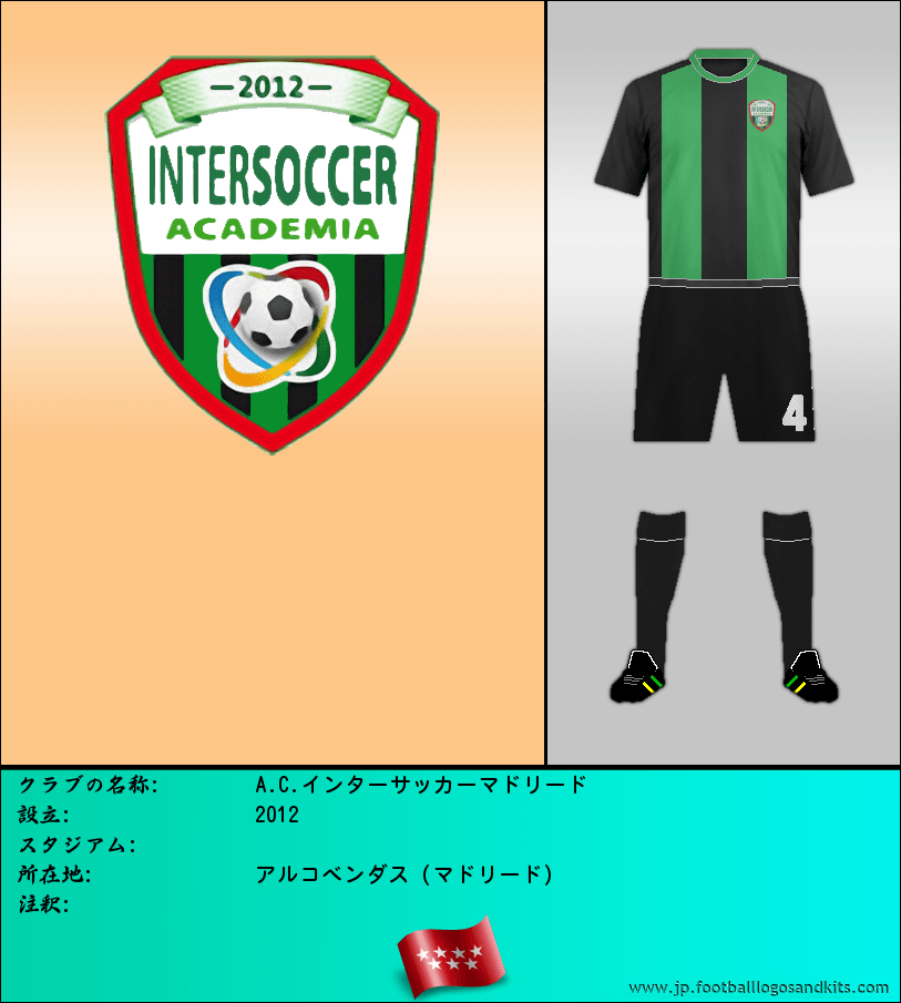 のロゴA.C.インターサッカーマドリード