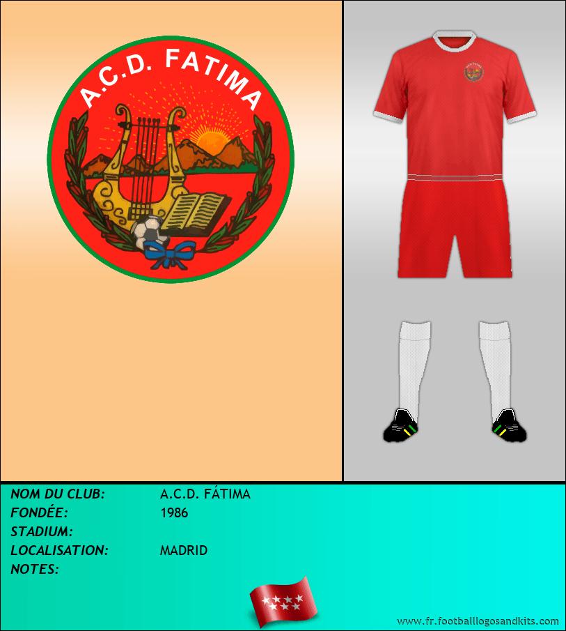 Logo de A.C.D. FÁTIMA