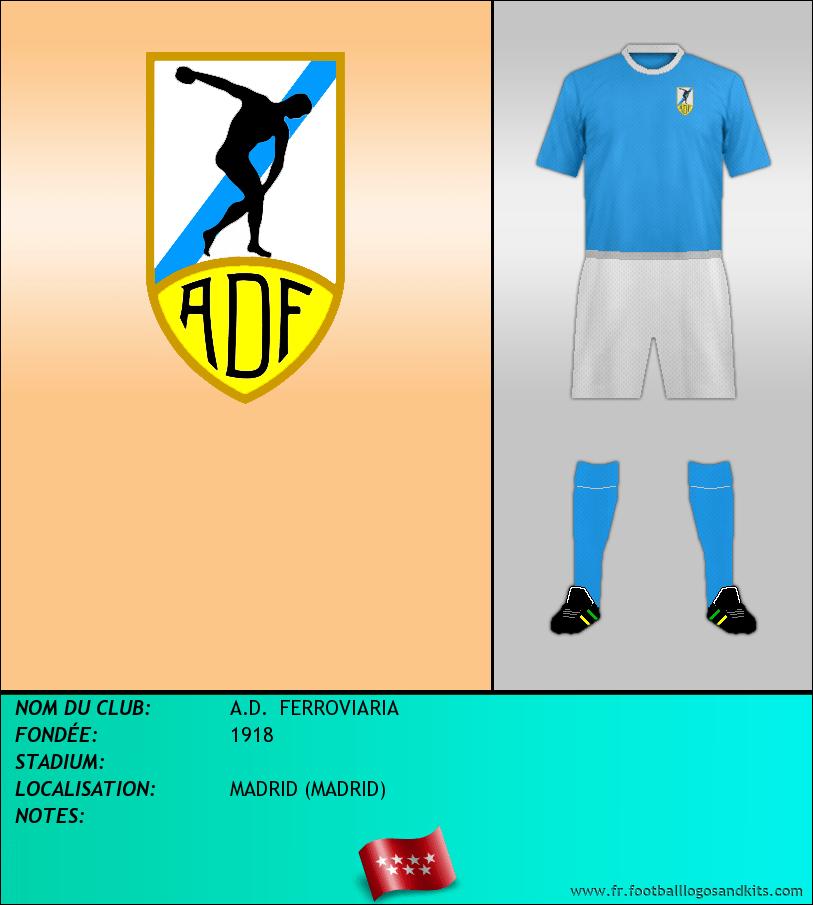 Logo de A.D.  FERROVIARIA