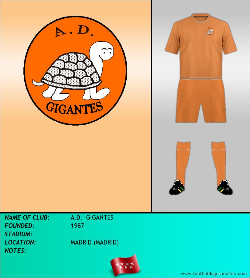 Logo of A.D.  GIGANTES