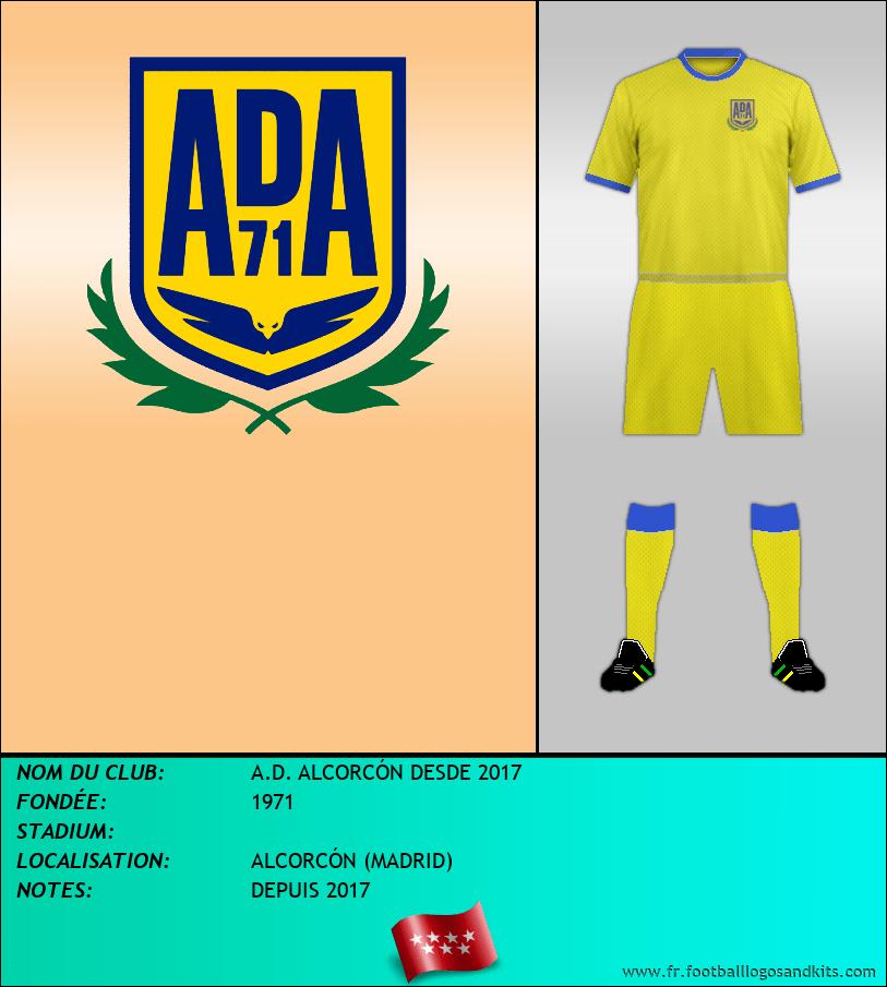 Logo de A.D. ALCORCÓN DESDE 2017