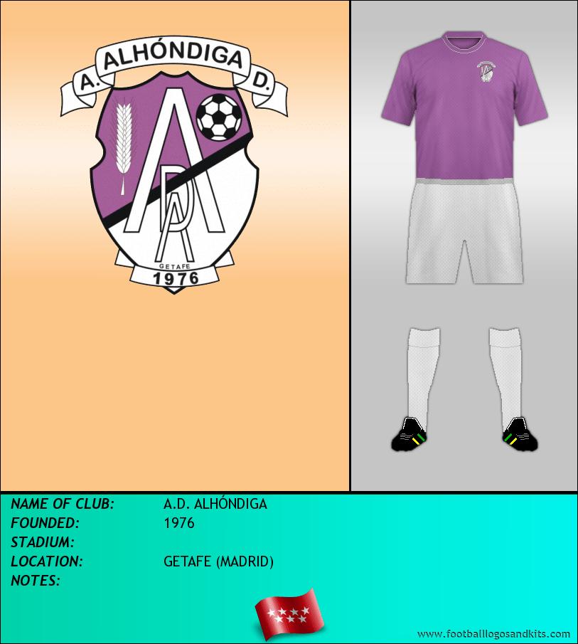 Logo of A.D. ALHÓNDIGA