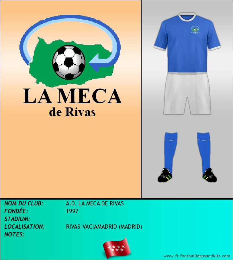 Logo de A.D. LA MECA DE RIVAS
