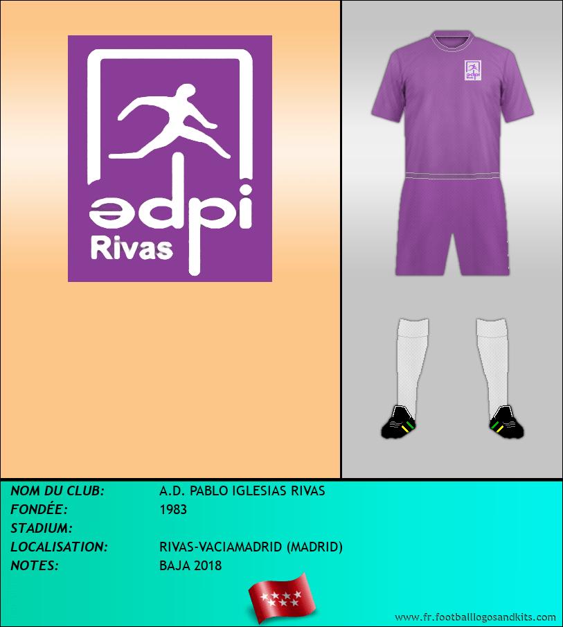 Logo de A.D. PABLO IGLESIAS RIVAS
