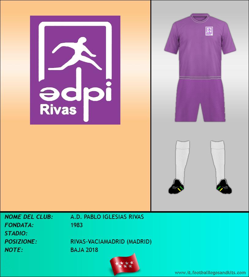 Logo di A.D. PABLO IGLESIAS RIVAS