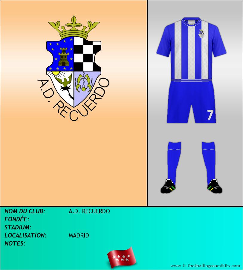 Logo de A.D. RECUERDO