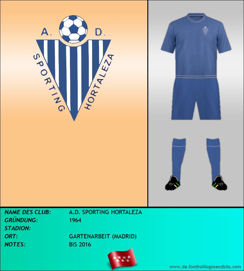 Logo A.D. SPORTING HORTALEZA