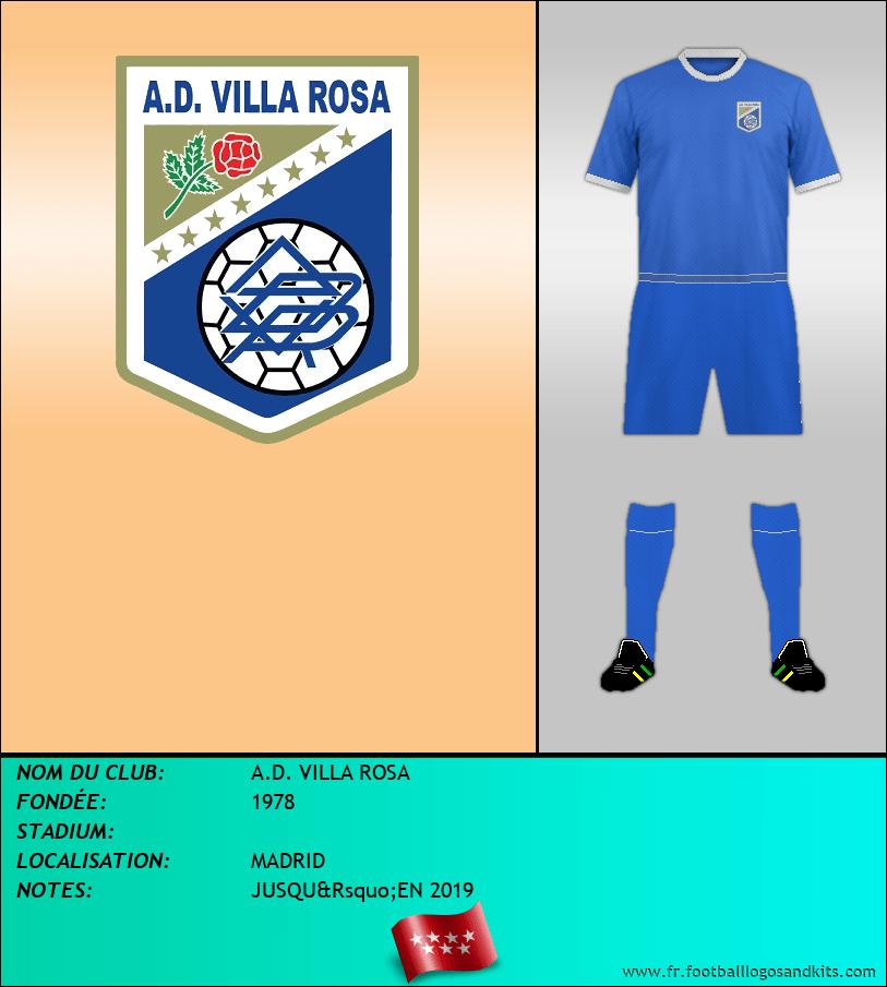 Logo de A.D. VILLA ROSA