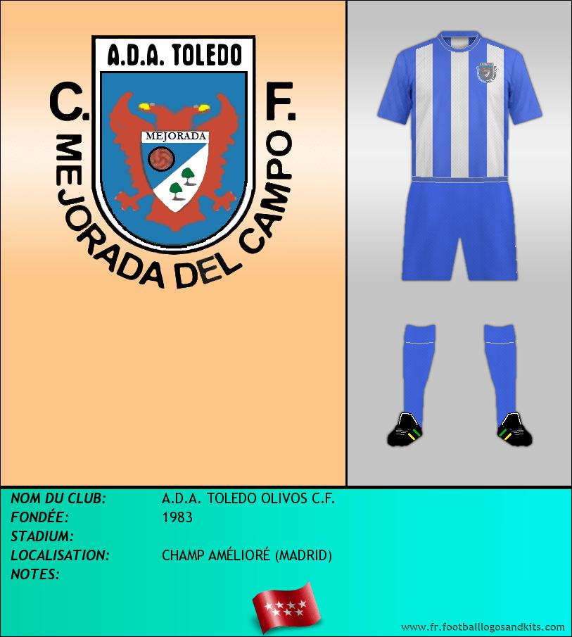 Logo de A.D.A. TOLEDO OLIVOS C.F.
