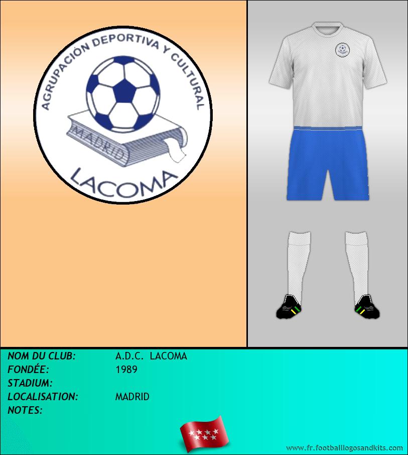 Logo de A.D.C.  LACOMA