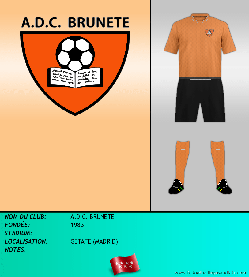 Logo de A.D.C. BRUNETE