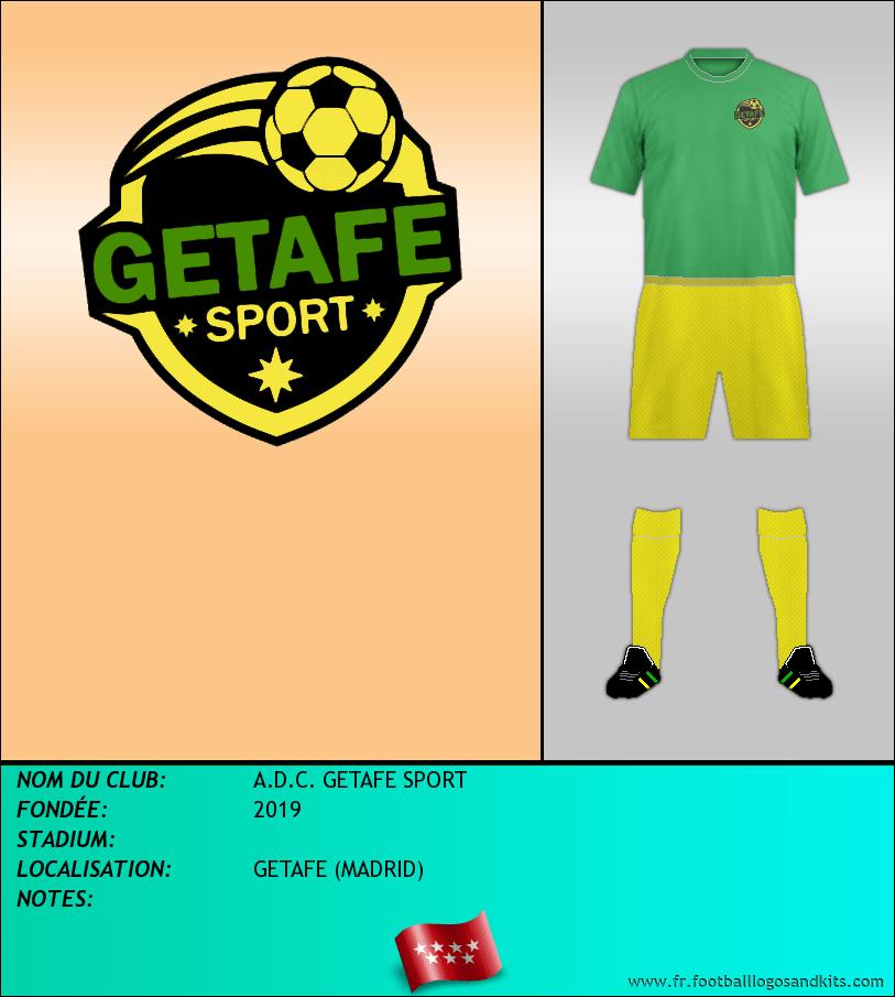 Logo de A.D.C. GETAFE SPORT