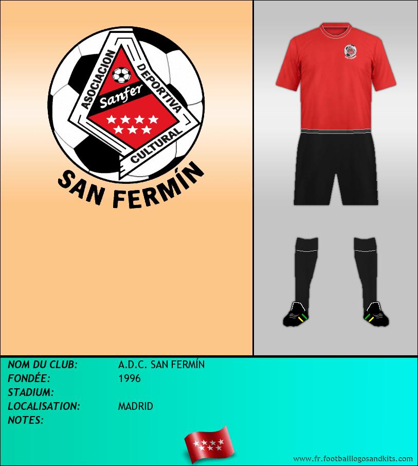 Logo de A.D.C. SAN FERMÍN