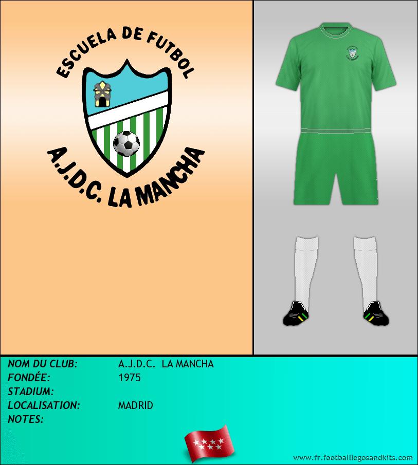 Logo de A.J.D.C.  LA MANCHA