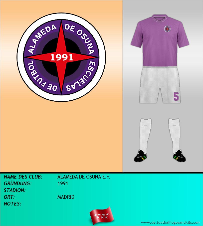 Logo ALAMEDA DE OSUNA E.F.