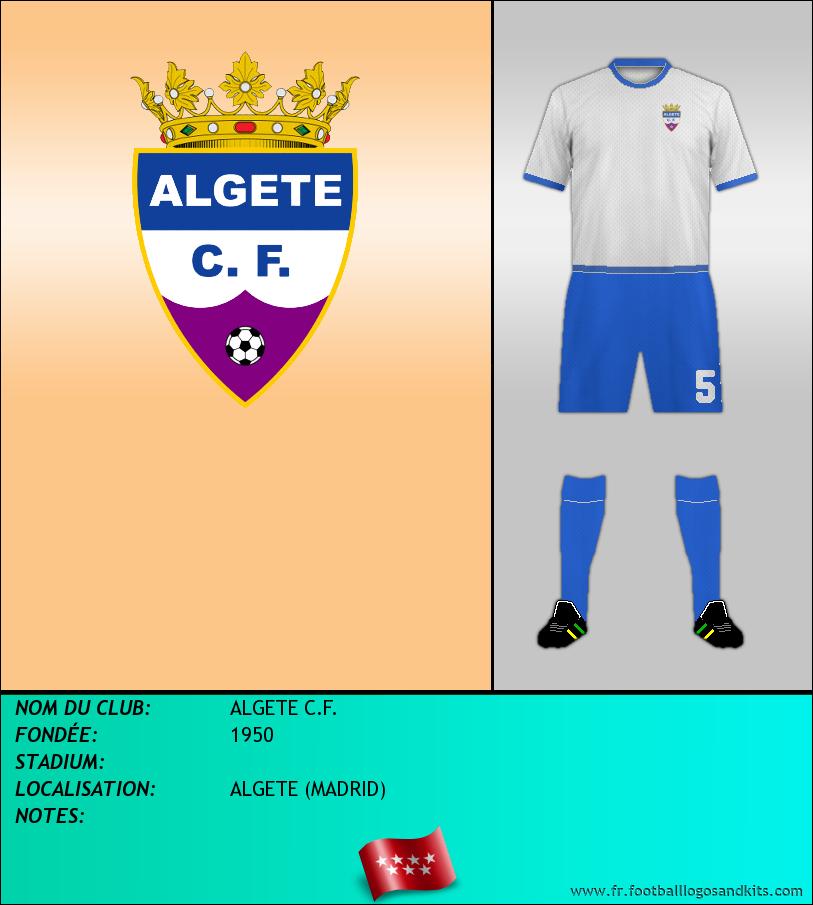 Logo de ALGETE C.F.