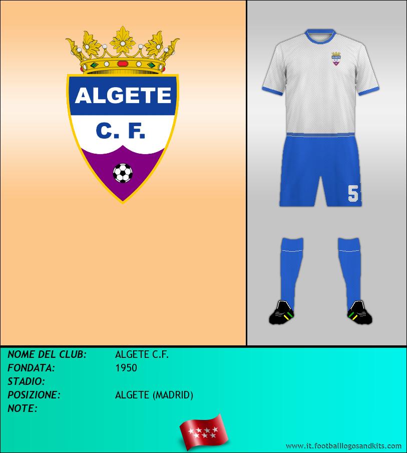 Logo di ALGETE C.F.