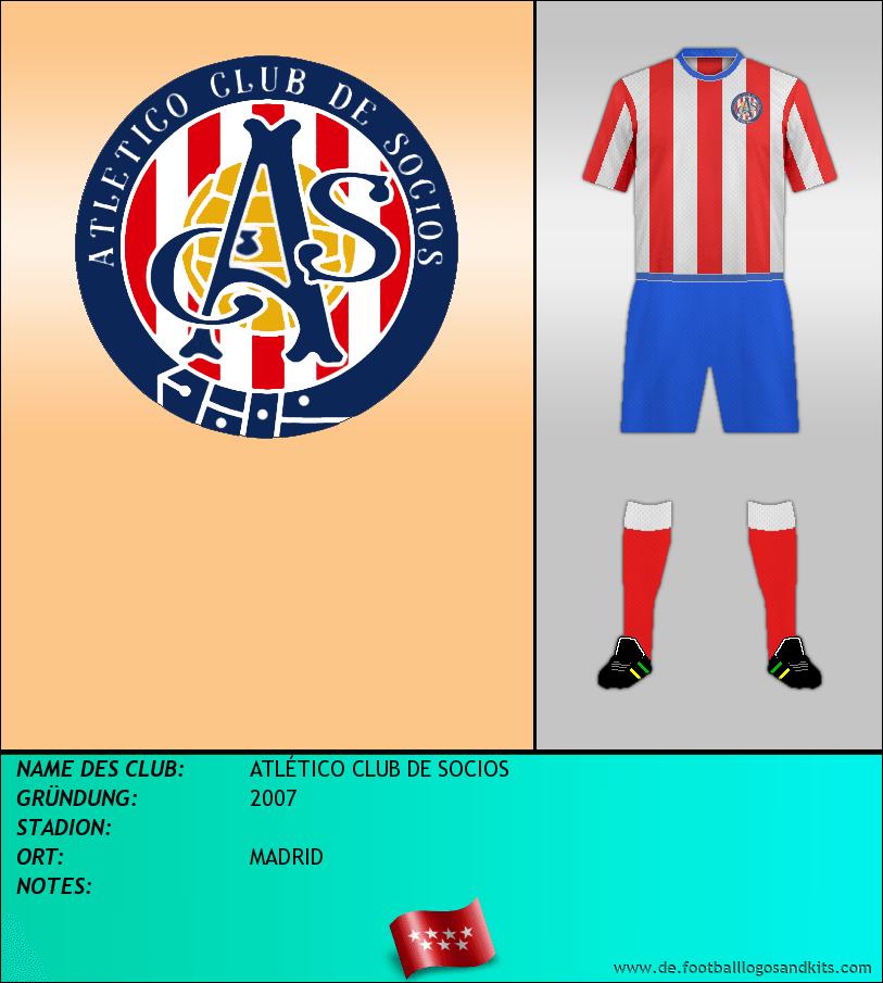 Logo ATLÉTICO CLUB DE SOCIOS
