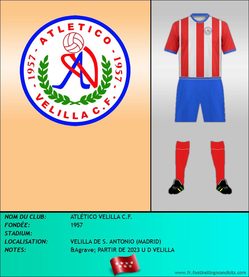 Logo de ATLÉTICO VELILLA C.F.