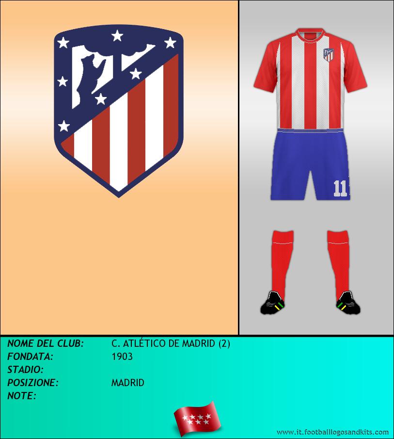 Logo di C. ATLÉTICO DE MADRID (2)