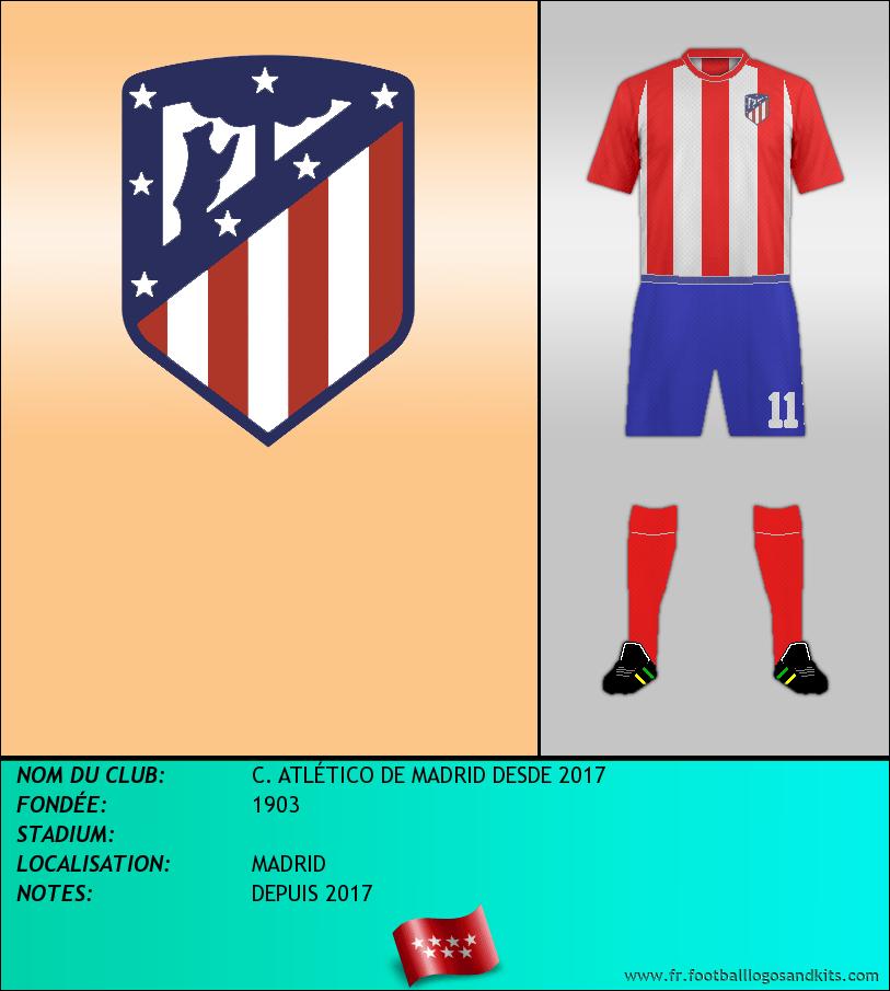 Logo de C. ATLÉTICO DE MADRID DESDE 2017