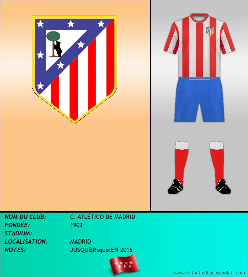 Logo de C. ATLÉTICO DE MADRID