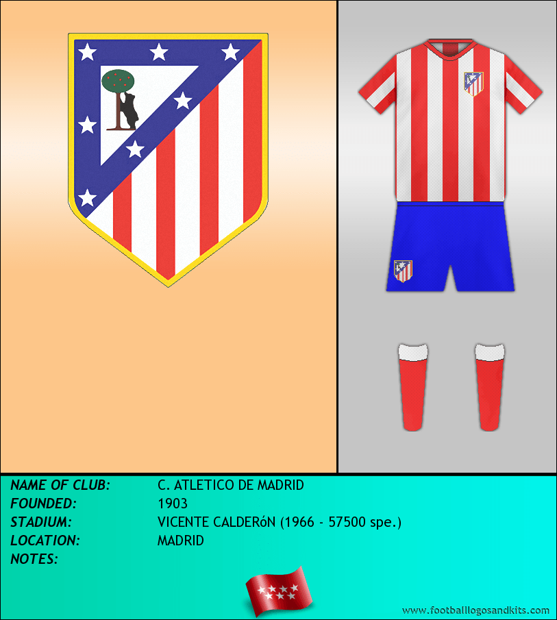 Logo of C. ATLETICO DE MADRID
