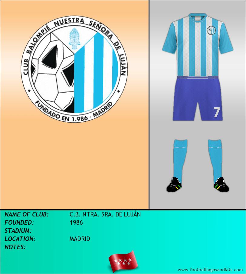 Logo of C.B. NTRA. SRA. DE LUJÁN