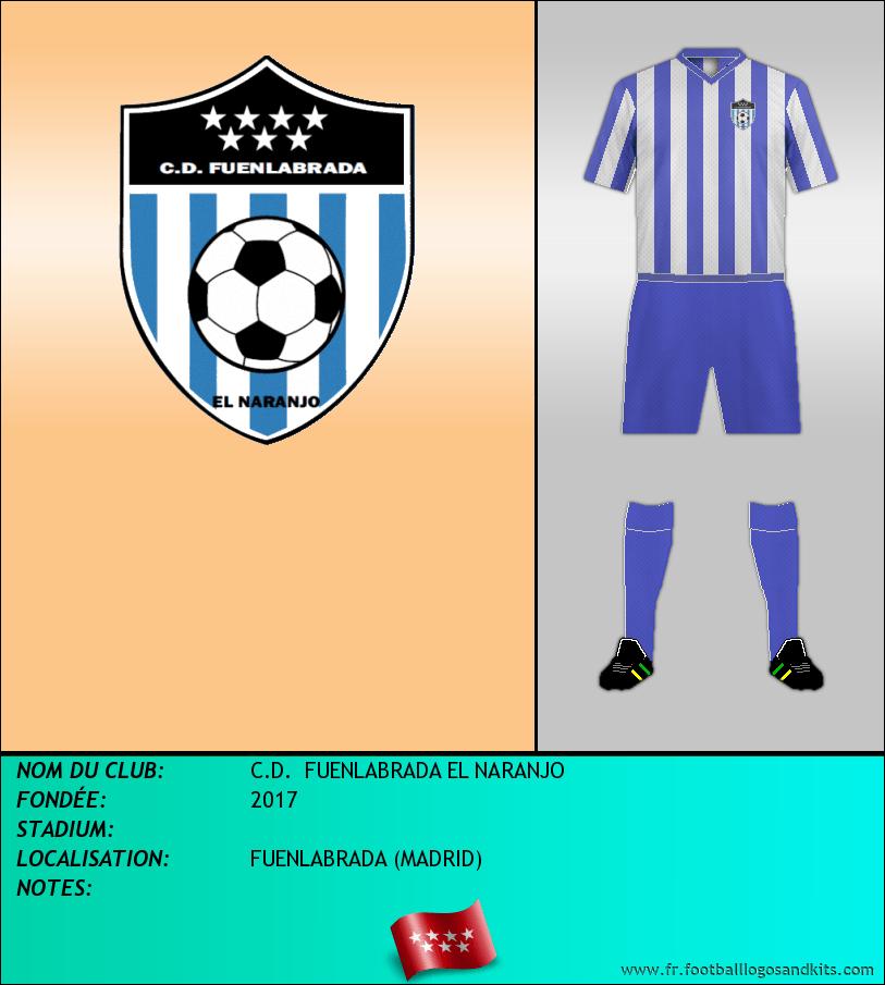 Logo de C.D.  FUENLABRADA EL NARANJO